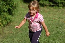 Free Active Girl Stock Photography - 1462182