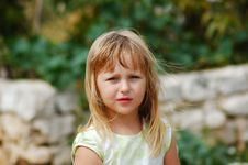 Free Girl In A Wild Life Stock Images - 1462314