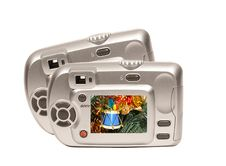 Christmas Camera Royalty Free Stock Image