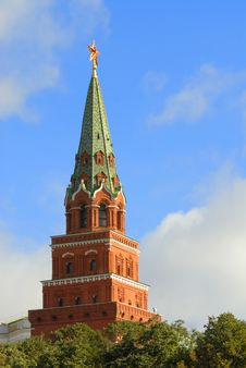 The Kremlin In Moscow. Royalty Free Stock Image