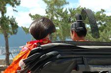 Free Japanese Wedding Couple Royalty Free Stock Image - 1463286