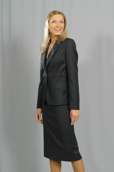 Free Young Beautiful Smiling Business Woman Stock Photo - 1463450