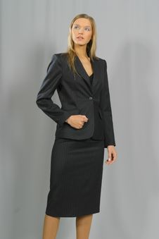 Free Young Beautiful Smiling Business Woman Stock Photography - 1463462