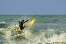 Free Crazy Surfing Stock Photo - 1464650
