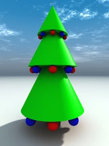Free Christmas Tree 5 Stock Photography - 1464822