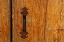 Free Chapel Door Handle Royalty Free Stock Photos - 1467188