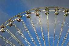 Free Close Up Of The Big Wheel At The Local Fair Stock Photos - 1468233