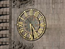 Free Clock - Gold Stock Images - 1468574