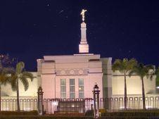 Free City Temple At Night Royalty Free Stock Photos - 1468868