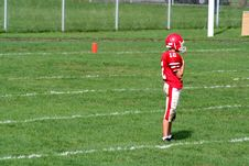 Free High School Football Player Stock Photos - 1469013
