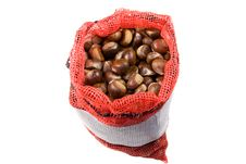 Free Chestnuts In A Bag Stock Image - 1469241