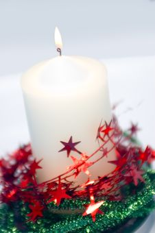 Free Xmas Candle Stock Photos - 1469583
