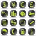 Free Finance Icons Stock Photography - 14604282