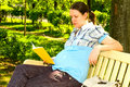 Free Pregnant Woman With Book Royalty Free Stock Image - 14607836