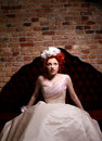Free Beautiful Bride In Dress Stock Photography - 14609132