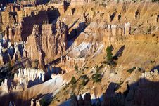 Free Landscape In Bryce Canyon With Stone Forma Royalty Free Stock Photography - 14600457