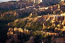Free Landscape In Bryce Canyon With Stone Forma Royalty Free Stock Image - 14600476