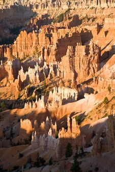 Free Bryce Canyon With Stone Formation Royalty Free Stock Image - 14600516