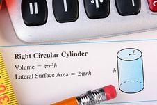 Free Correct Cylinder Royalty Free Stock Photo - 14600775