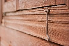 Old Latch Royalty Free Stock Images