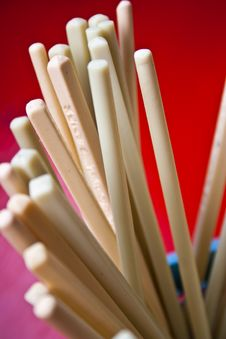 Free Chopsticks Royalty Free Stock Image - 14602106
