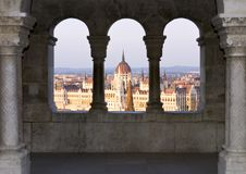 Cityscape Of Budapest Royalty Free Stock Photography