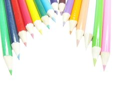 Free Colored Pencils Royalty Free Stock Image - 14602536
