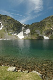 Rila Lakes View Royalty Free Stock Photography