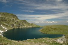 Rila Lakes View Royalty Free Stock Photo