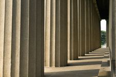 Classic Style Columns Stock Images