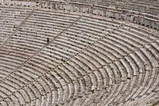 Free Theatre At Epidaurus Royalty Free Stock Image - 14603396