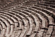 Free Theatre At Epidaurus Royalty Free Stock Photos - 14603408