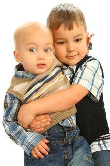 Free Two Little Boys Stock Photos - 14604183