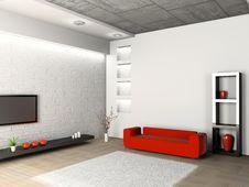 Free Living Room Royalty Free Stock Photo - 14604895