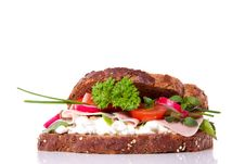 Free A Rich Healthy Brown Sandwich Stock Images - 14605014