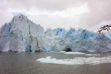 Glacier Perito Moreno Ice Royalty Free Stock Photography