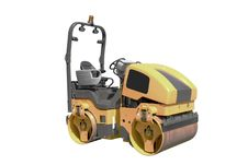 Free Road Roller Royalty Free Stock Photography - 14605887