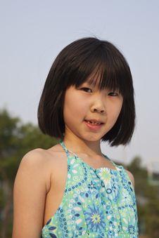 Free Asian Girl Royalty Free Stock Photo - 14606415