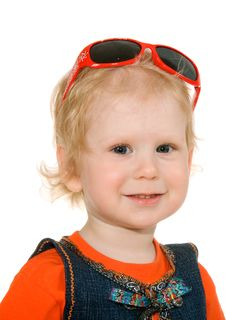 Free Small Girl With Spectacles Stock Image - 14606911