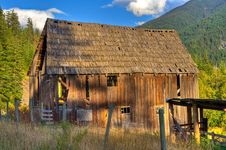 Free Old Barn Royalty Free Stock Image - 14607126