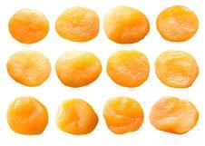 Free Dried Apricots Set. Stock Photo - 14607340