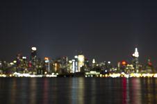 Free Blur Of Midtown Manhattan Royalty Free Stock Photo - 14607355