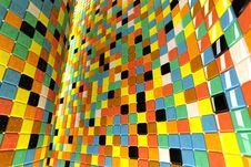 Free Wall Of Mosaic Royalty Free Stock Photography - 14608377