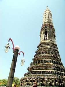 Free Pagoda In Wat Arun Royalty Free Stock Images - 14608439