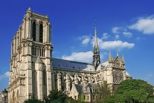 Free Notre Dame De Paris Royalty Free Stock Photos - 14609058