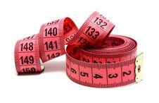 Free Measuring Ribbon Royalty Free Stock Image - 14609376