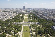 Free View From Eiffel Tower Royalty Free Stock Image - 14609486