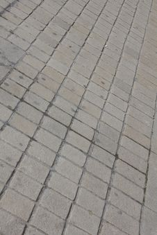 Free Paving Cobbles Royalty Free Stock Image - 14609616