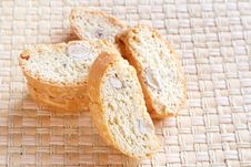 Free Stack Of Almond Biscotti Royalty Free Stock Image - 14609666