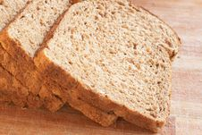 Free Tasty Healthy Wholewheat Bread Stock Photography - 14609672